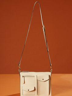 DIARY BAG Leather Shoulder Bag, Shoulder Bags, Urban Trends, Slg, Leather Handbags, Leather Bags, Small Crossbody Bag, Small Leather Goods, Small Bags