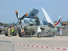 French operated Douglas Skyraider.
