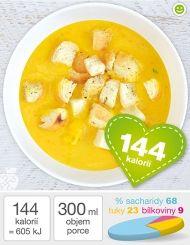 Hustá dýňová polévka z dýně Hokaido