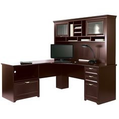 "realspace® magellan collection l-shaped desk, 30""h x 58 3/4""w x 18"
