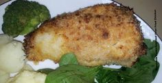 Buttermilk Panko-Crusted Oven Fried Chicken
