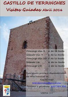 Castillo de Terrinches - Visitas Guiadas Abril 2016