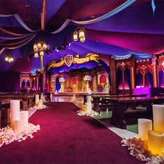 This Disney's Fairy Tale Wedding at Fantasy Faire Theater in Disneyland Park is straight out of a storybook - holy shit! I didn't know you could get married there! Disney Wedding Venue, Disney World Wedding, Disney Inspired Wedding, Wedding Venues, Wedding Ideas, Disney Weddings, Destination Wedding, Disneyland Couples, Disneyland Trip