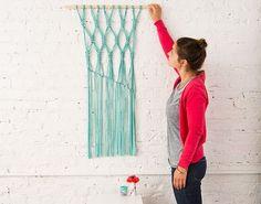 Macra-make a Gorgeous Macrame Wall Hanging