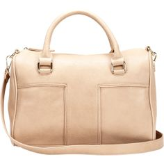 Sole Society Natassia Top Handle Satchel ($50) ❤ liked on Polyvore