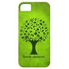 Simple Pleasures Tree iPhone 5 Cover