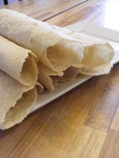 Homemade Wheat-flour Tortillas