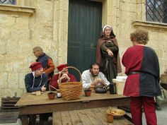 Medieval Life, Chivalry, City State, Tin, History, Historia, Pewter