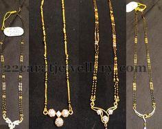 Jewellery Designs: Simple Yet Elegant Mangalsutras