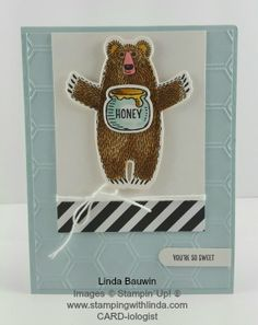 1000+ images about SU Bear Hugs on Pinterest  Bear Hugs, Stampin Up and Stam...