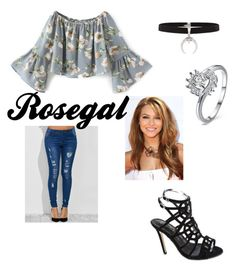 """Rosegal"" by sabrinawimer on Polyvore"
