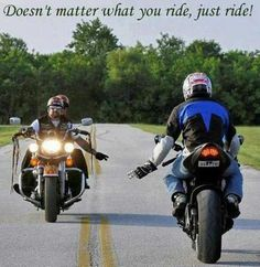 Bikers respect Each Other.  babespage.lolspots.com