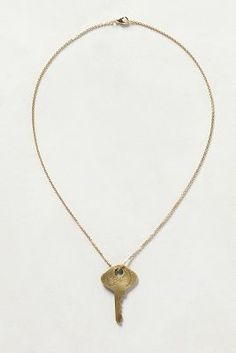 The #GivingKeys for Anthropologie!!! LOVE IT!!  Dainty Giving Key Necklace
