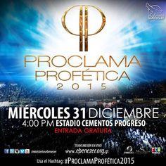PROCLAMA PROFÉTICA 2015 GUATEMALA