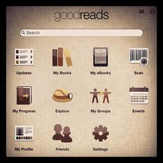 We love the #Goodreads app! Easily scan your #books and organize into lists! #tech
