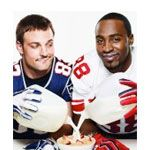 Hakeem Nicks and Wes Welker - Super Bowl ad 2011/12