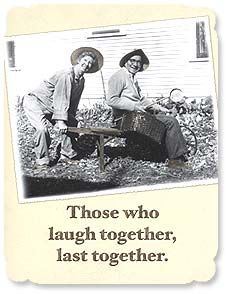 Anniversary Card - Those Who Laugh Together | Maggie Mae Sharp | 91412 | Leanin' Tree