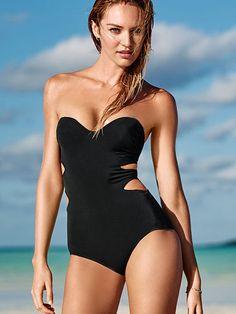 VS Double Cut-out One-piece Forever Sexy Swimwear Fashion, Swimwear 2015, b4b26192e3