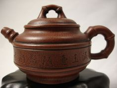 Red clay Yixing tea pot from China