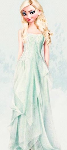 Beautiful modern version of Elsa!!!