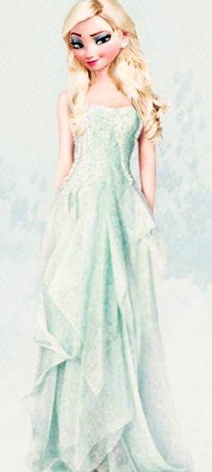 Beautiful modern version of Elsa!!!