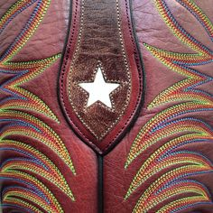 Custom Cowboyboots made by Legendary Boot Co. in El Paso Texas, handstitched