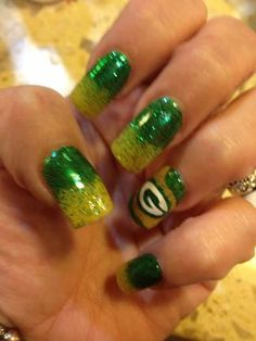 Love the Packer Nails!