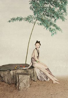 復興東方美學的攝影詩人:Sun Jun孫郡 13 - The Femin