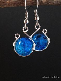 Blue Simple Earrings, Something Blue Earrings, Post Earrings, Clip Earrings, Lever Back Earrings, Free Shipping anywhere in the USA