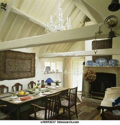 Like the white washed walls and wood!