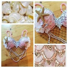 I have already bought a mermaid bra from whythecagebirdsingz, and they are amazing. she takes the time and her pieces are just absolutely perfect. go to her for your rave girl needs.
