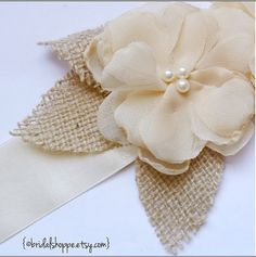 Wedding Sash PETITE ASHLEY Two Vintage Ivory by BridalShoppe