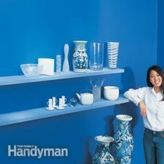Another option for the floating shelf. DIY  How to Build Floating Shelves