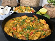 Pittige kip in kokosmelk met groenten spicy chicken in coconut milk with vegetables – Powered by WP Ultimate Recipe Winter Dinner Recipes, Vegetarian Recipes Dinner, Indian Food Recipes, Asian Recipes, Healthy Recipes, Vegetable Recipes, Chicken Recipes, I Love Food, Good Food