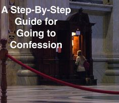 The sacrament of Reconciliation is one of God's greatest gifts to us!  Still, it can be scary.  Here's a step-by-step guide for getting through the nerves.