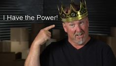 "Darrell Sheets wears a crown on his head. Read ""The Return of the King of Montebello"" 5th season recap: http://onlinestorageauctions.com/storage-wars-king-darrell-reigns-supreme/"