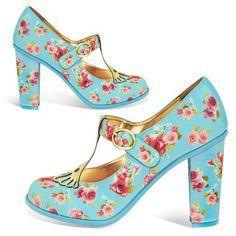 Hot Chocolate Design Chocolaticas High Heels Emma Women's Mary Jane Pump Multicoloured US Size: 7