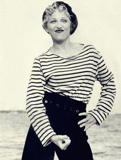 Les stars en mariniere - Madonna