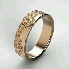 Classic gold ring with lace texture anniversary ring classic wedding ring gold wedding band rose gold lace ring white gold ring for her matching his and hers rose gold tungsten wedding bands set idream jewelry com Classic Wedding Rings, Wedding Rings Simple, Beautiful Wedding Rings, Diamond Wedding Rings, Wedding Ring Bands, Wedding Jewelry, Weding Ring, Diamond Anniversary Rings, Bridal Rings