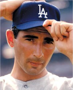 """Pitching is the art of instilling fear.""   --Sandy Koufax--   Hall of Fame pitcher with Brooklyn and Los Angeles Dodgers"