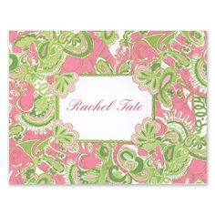 Chin Chin Note Cards - Lilly Pulitzer (15 for $34)