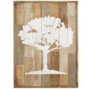 Wood Patchwork Tree Wall Decor