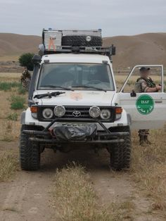 ISAF Land Cruiser