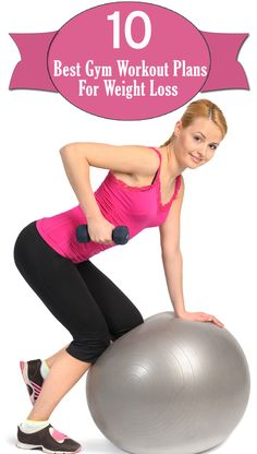 10 Best Gym Workout Plans For Weight Loss