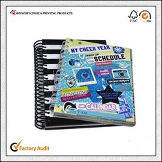 Cheap Price Custom Spiral Diary Notebook Printing