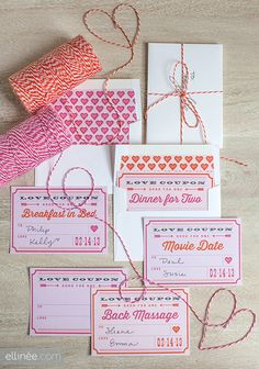 PRINTABLE VALENTINE'S DAY LOVE COUPONS