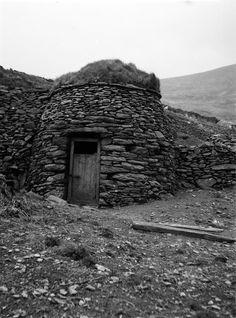 Clocháns at Coumeenoole, Dunquin, Co. Kerry, Ireland.
