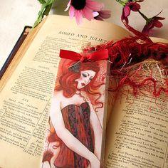 Bookmark  Aurora by Minasmoke on Etsy, $8.00
