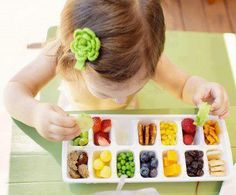 great use of an ice cube tray.