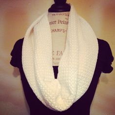 Pull over scarf